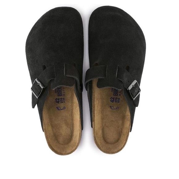9c796c034fbd Birkenstock Shoes - Birkenstock Boston soft footbed black